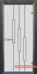 Стъклена врата модел Sand 14-11 – Сив кестен
