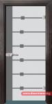 Стъклена врата модел Sand 14-5 – Венге